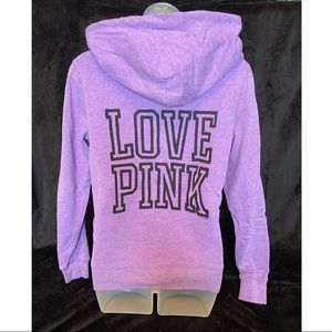 VS PINK Purple Hoodie Small